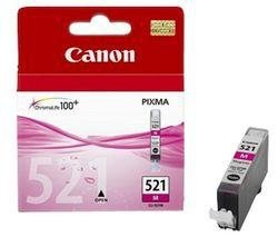 Tusz Canon CLI521M magenta poj. 9ml do PIXMA iP3600 / iP4600 / MP540 2935B001