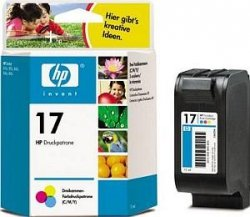 Tusz HP No 17 kolor C6625AE poj. 15ml do DeskJet 840 / DeskJet  816C / DeskJet 840C