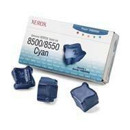 Kostki barwiące Xerox do Phaser 8500/8550 | 3 000 str. | cyan