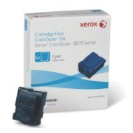 Kostki barwiące Xerox do ColorQube 8870 | 17 300 str. | cyan