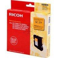 Tusz Ricoh do GX2500/3000/3050/5050/7000 | 1 000 str. | yellow