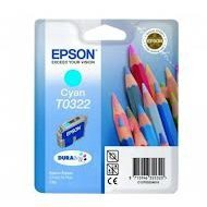 Tusz Epson T0322 do Stylus C-70/80/82 | 16ml | cyan