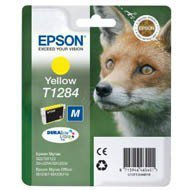 Tusz Epson T1284 do Stylus S22, SX-125/130/230/235W/420W | 3,5ml | yellow