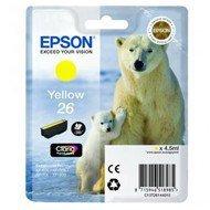 Tusz Epson T2614 do XP-600/700/800 | 4,7ml | yellow