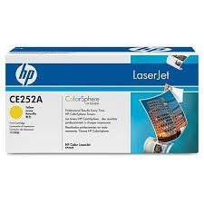 Toner oryginalny HP CE252A yellow do HP Color LaserJet CP3525 / CP3525n / CP3525dn / CP3525x / CM3530 / CM3530fs na 7 tys. str.