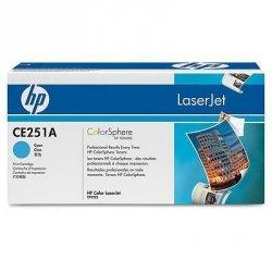 Toner oryginalny HP CE251A cyan do HP Color LaserJet CP3525 / CP3525n / CP3525dn / CP3525x / CM3530 / CM3530fs na 7 tys. str.