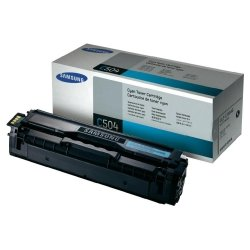 Toner oryginalny Samsung CLT-C504S cyan do CLP-415 / CLP-415NW / CLX-4195 / CLX-4195FW / CLX-4195FN na 1,8 tys str.