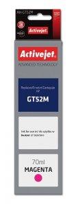 Tusz Activejet AH-GT52M (zamiennik HP GT52M M0H55AE; Supreme; 70 ml; czerwony)