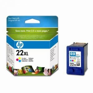 Tusz HP No 22XL kolor C9352CE poj. 11ml do DeskJet 3940 / DeskJet  3920 / PSC 1410
