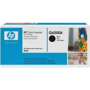Toner HP Q6000A black do CLJ 1600 / 2600 / 2600N / 2605DN / 2605DTN / CM1015 / CM1017 / na 2,5 tys. str.