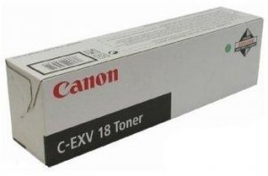 Toner Canon black C-EXV18 do IR1018 / IR1020 / IR1022 / IR1024A na 8,4 tys. str.