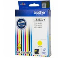 Tusz Brother do DCPJ100YJ1/DCPJ105YJ1 | yellow 1300str