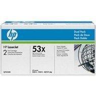 Toner HP Q7553XD black dualpack (2 tonery Q7553X w jednym opak.) do HP LJ P2012 / P2013 / P2014 / P2015 / P2015dn / P2015x / M27