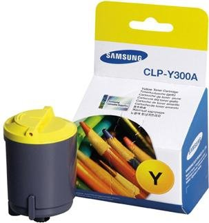 Toner Samsung CLP-Y300A yellow do CLP-300 /CLP-300N / CLX-2160 / CLX-2160N / CLX-3160FN / CLX-3160N na 1 tys. str.