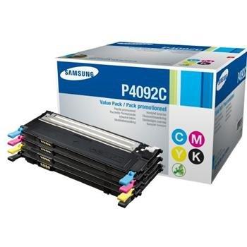 Komplet tonerów CMYK CLT-P4092C do Samsung CLP-310 /CLP-310N /CLP-315 /CLP-315N /CLX-3170 /CLX-317ON /CLX-3170FN /CLX-3175
