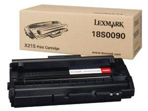 Toner Lexmark 0018S0090 black do X 215 / X 215 MFP na 3,2 tys. str.