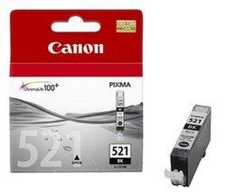 Tusz Canon CLI521BK czarny poj. 9ml do PIXMA iP3600 / iP4600 / MP540 2933B001