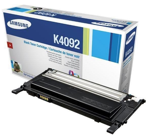 Toner Samsung oryginalny CLT-K4092S black do CLP-310 /CLP-310N /CLP-315 /CLP-315N /CLX-3170 /CLX-317ON /CLX-3170FN /CLX-3175 na 1,5 tys. st