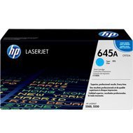 Toner HP 645A do Color LaserJet 5500/5550 | 12 000 str. | cyan