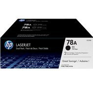 Zestaw dwóch tonerów HP 78A do LaserJet Pro 1566/1606 | 2 x 2 100 str. | black