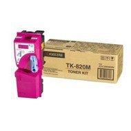 Toner Kyocera TK-820M do FS-C8100DN   7 000 str.   magenta