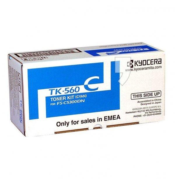 Toner oryginalny Kyocera TK-560C do FS-5300 / FS-5350 | 10 000 str. | cyan