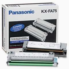 Toner i bęben Panasonic KX-FA75X  do KX-FLM600 / KX-FLM650 na 5 tys. str. KXFA75