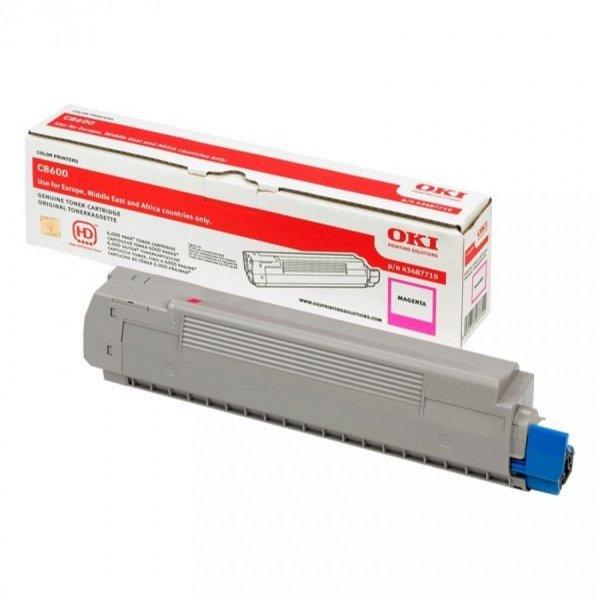 Toner oryginalny OKI 43487710 magenta do OKI C8600 / C8600n / C8800 / C8800n na 6 tys. str.