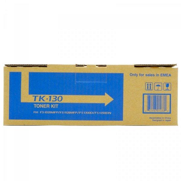 Toner oryginalny Kyocera TK-130 do FS-1300D / FS-1300DN / FS-1350DN / FS-1028MFP / FS-1028MFP DP / FS-1128MFP na 7,2 tys. str. TK130