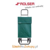 Wózek na zakupy JEA006 DOS+2 kolor VERDE, firmy Rolser