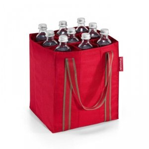 Torba na butelki Bottlebag kolor Red, firmy Reisenthel