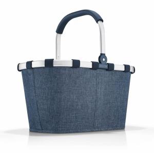 Koszyk na zakupy Carrybag kolor Twist Blue, firmy Reisenthel