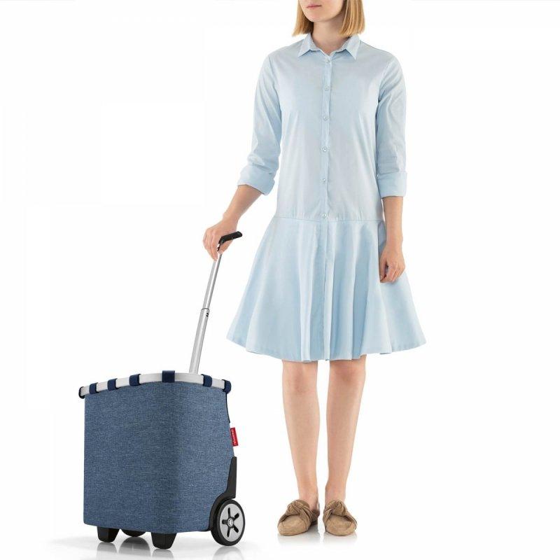 Wózek na zakupy Carrycruiser kolor Twist Blue, firmy Reisenthel