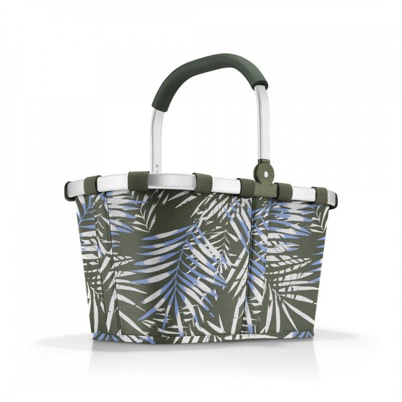 Koszyk na zakupy Carrybag kolor Jungle Trail Green, firmy Reisenthel