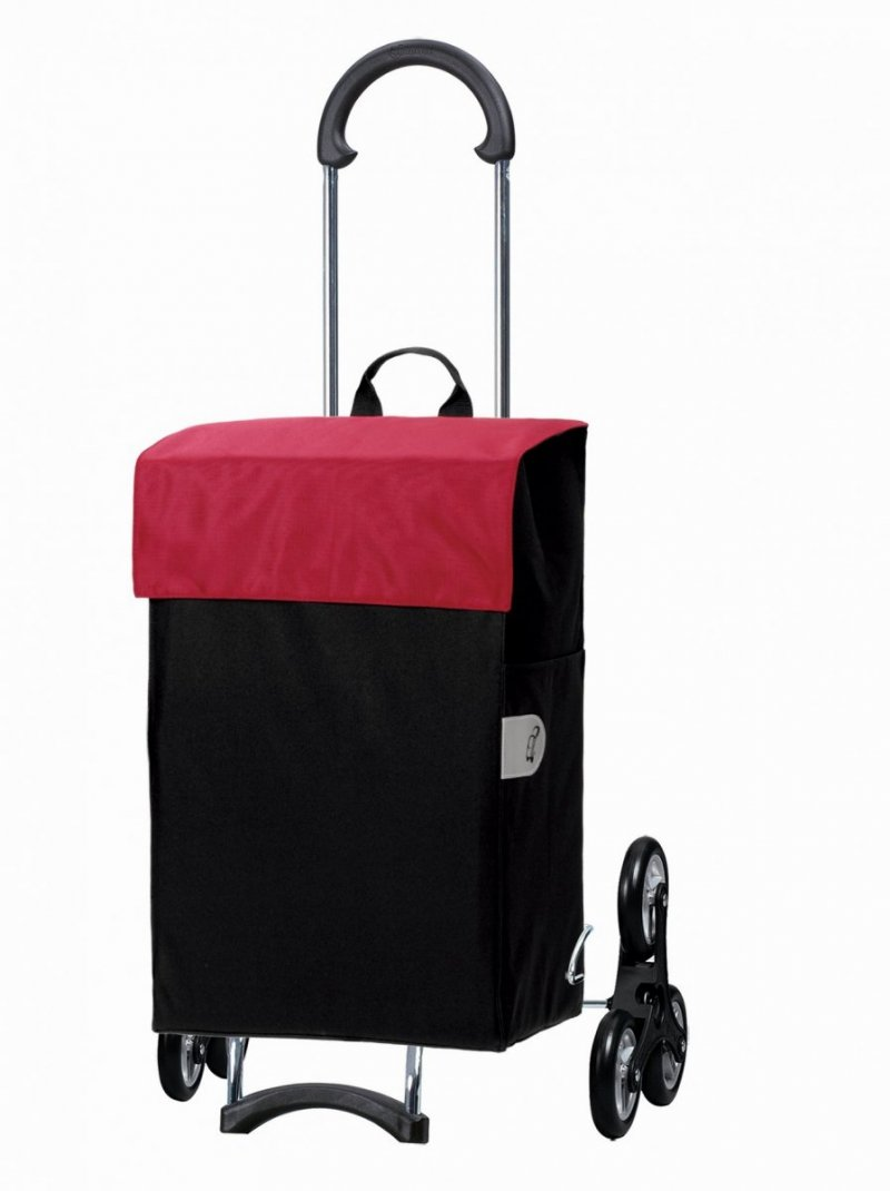 Wózek na zakupy Scala 6 Hera czerwony, firmy Andersen