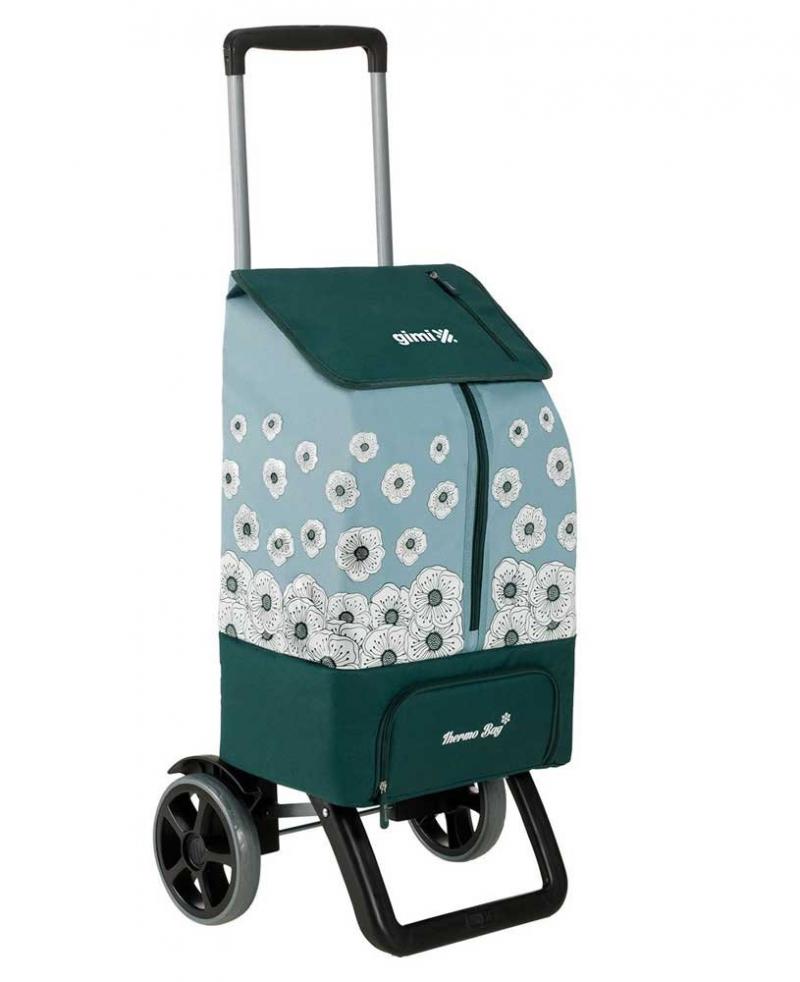 Wózek na zakupy Kangoo Thermo zielony, firmy Gimi
