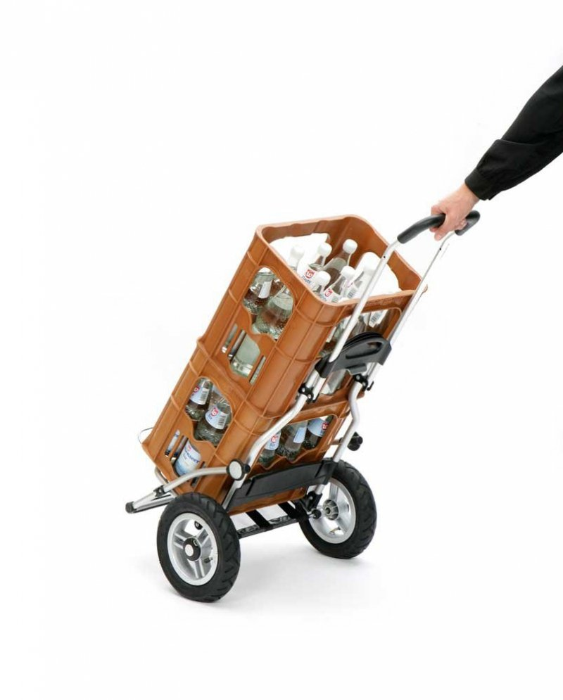 Wózek na zakupy Royal 163 Ortlieb czarny, firmy Andersen