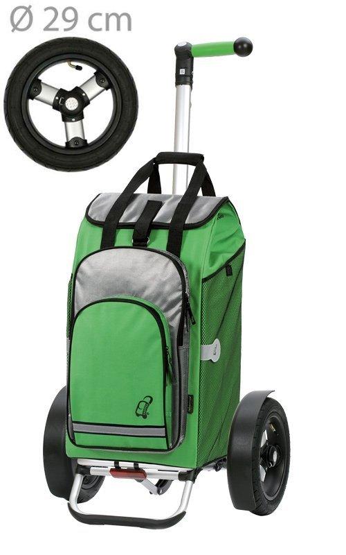 Wózek na zakupy Tura 136 Hydro zielony, firmy Andersen