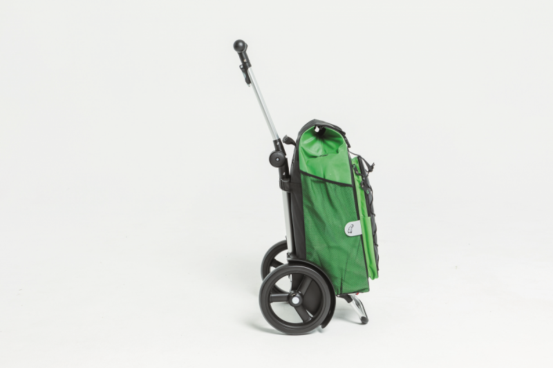 Wózek na zakupy Tura 135 Clint zielony, firmy Andersen