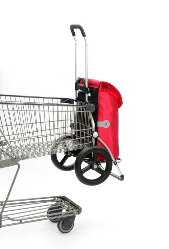 Wózek na zakupy Royal 164 Ortlieb srebrny, firmy Andersen