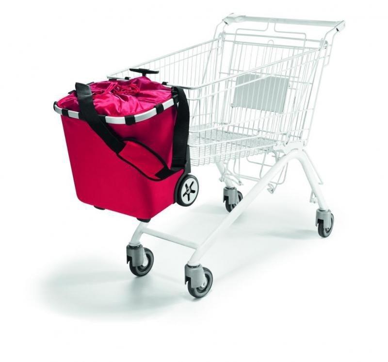 Wózek na zakupy Carrycruiser kolor Red, firmy Reisenthel