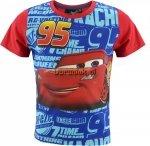 T-shirt Auta Zygzak 95 czerwony