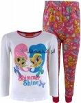 Piżama Shimmer i Shine różowo-biała
