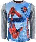 Bluzka Spiderman Web szara
