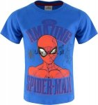 T-shirt Spiderman Amazing niebieski