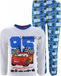 Piżama Auta Cars 95 niebieska