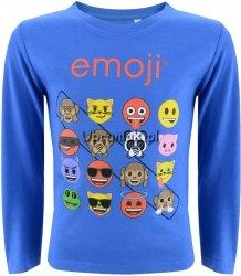 Bluzka Emoji niebieska