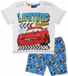 Piżama Auta Cars letnia niebieska