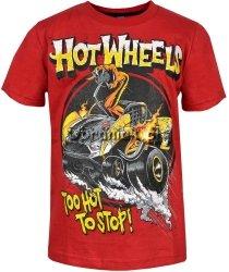 Koszulka Hot Wheels Snake czerwona
