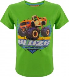 T-shirt Blaze i Mega Maszyny zielony